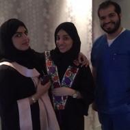 شرفوني في العيادة اليوم الفنانة خيرية ابو لبن @kh_abulaban و الميك اب ارتست سارة الودعاني @sarah_wad3ani ونظرهم ماشاء الله ٦/٦ 🏼