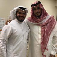 شرفني في العيادة صاحب السمو الملكي الأمير تركي بن سلمان بن عبدالعزيز حفظه الله