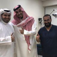 تشرفت بإجراء عملية تصحيح نظر لصاحب السمو الملكي الأمير تركي بن سلمان بن عبدالعزيز حفظه الله