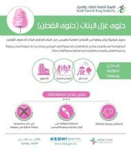 تحذير من هيئة الغذاء و الدواء بخصوص #حلاوة_قطن #cottoncandy #حلاوة_شعر